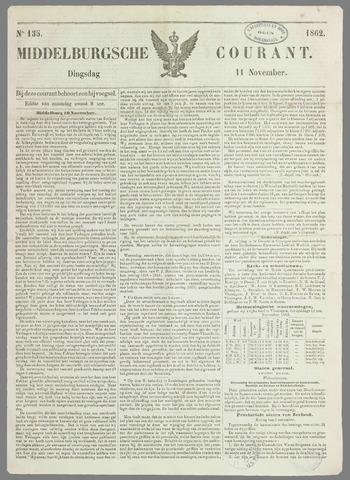 Middelburgsche Courant 1862-11-11