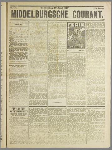 Middelburgsche Courant 1927-06-30