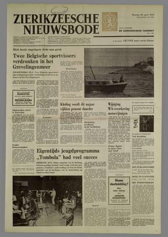 Zierikzeesche Nieuwsbode 1976-04-26