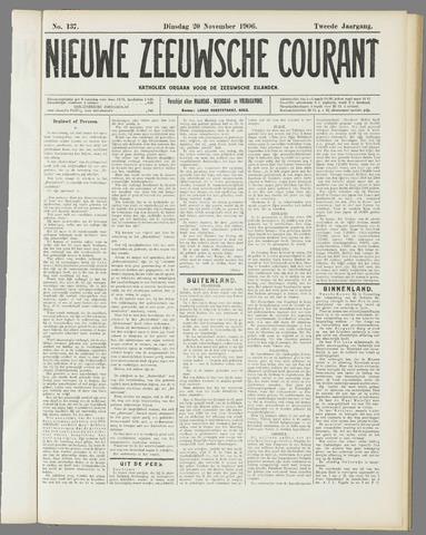 Nieuwe Zeeuwsche Courant 1906-11-20
