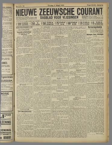 Nieuwe Zeeuwsche Courant 1923-03-06