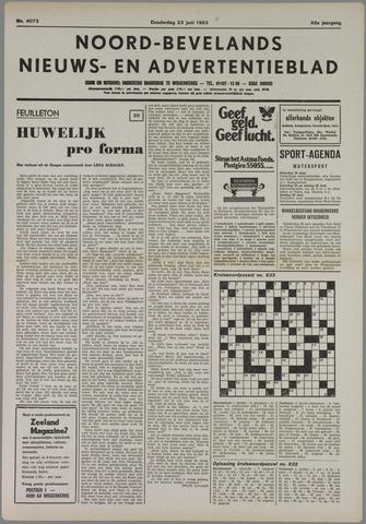 Noord-Bevelands Nieuws- en advertentieblad 1983-06-23