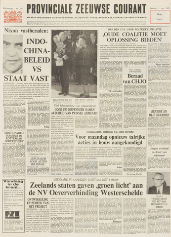 Provinciale Zeeuwse Courant 1971-05-01