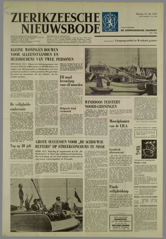Zierikzeesche Nieuwsbode 1975-07-15