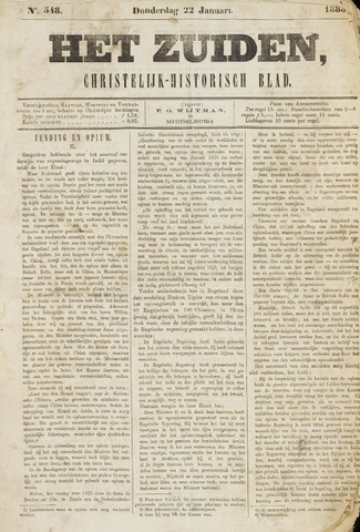Het Zuiden, Christelijk-historisch blad 1880-01-22