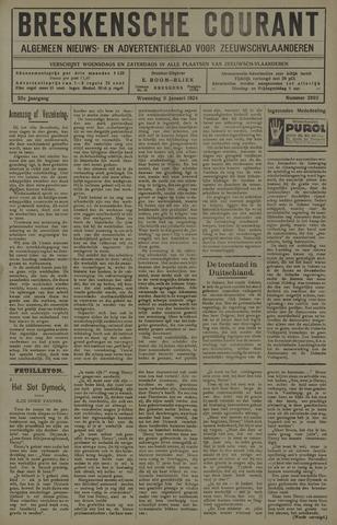 Breskensche Courant 1924-01-09