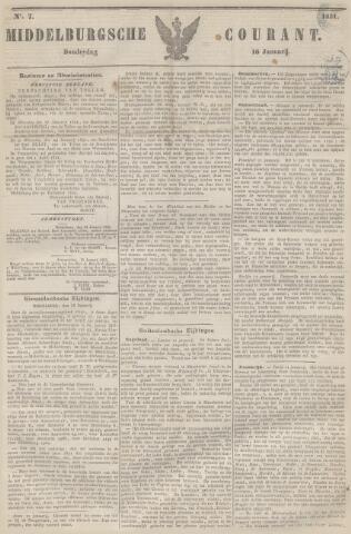 Middelburgsche Courant 1851-01-16