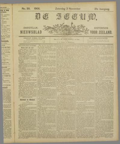 De Zeeuw. Christelijk-historisch nieuwsblad voor Zeeland 1906-11-03
