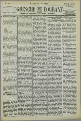 Goessche Courant 1919-04-29