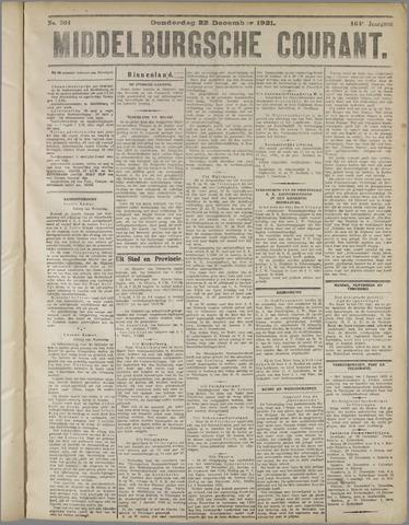 Middelburgsche Courant 1921-12-22