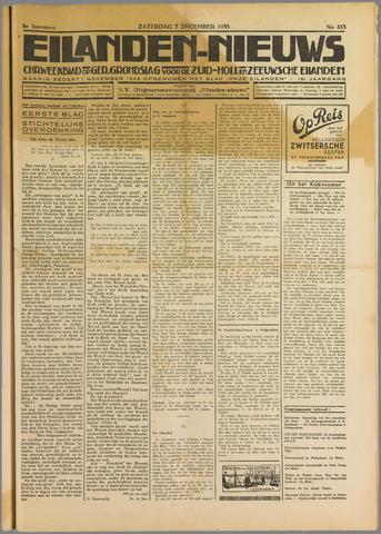 Eilanden-nieuws. Christelijk streekblad op gereformeerde grondslag 1935-12-07