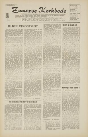 Zeeuwsche kerkbode, weekblad gewijd aan de belangen der gereformeerde kerken/ Zeeuwsch kerkblad 1966-09-23