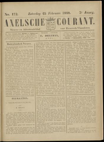 Axelsche Courant 1888-02-25