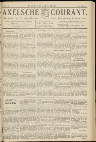 Axelsche Courant 1931-01-27
