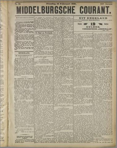 Middelburgsche Courant 1921-02-15
