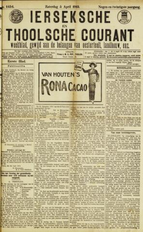 Ierseksche en Thoolsche Courant 1913-04-05
