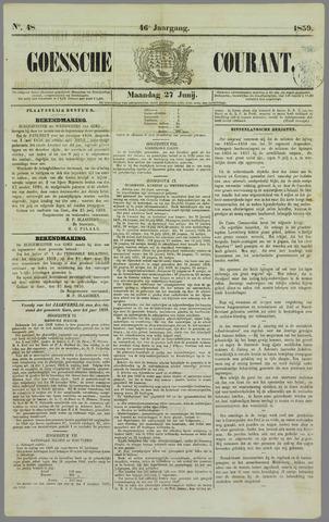 Goessche Courant 1859-06-27