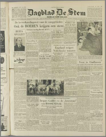 de Stem 1953-07-10
