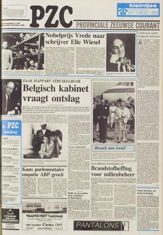 Provinciale Zeeuwse Courant 1986-10-15