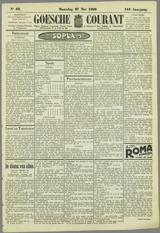 Goessche Courant 1929-05-27