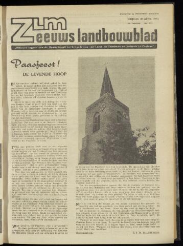 Zeeuwsch landbouwblad ... ZLM land- en tuinbouwblad 1962-04-20