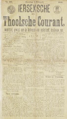 Ierseksche en Thoolsche Courant 1889-02-02