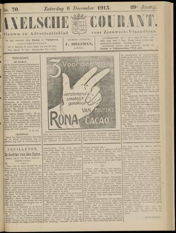 Axelsche Courant 1913-12-06
