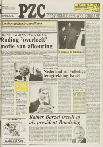 Provinciale Zeeuwse Courant 1984-10-26