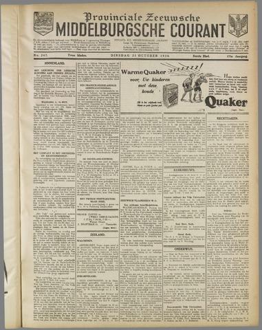 Middelburgsche Courant 1930-10-21
