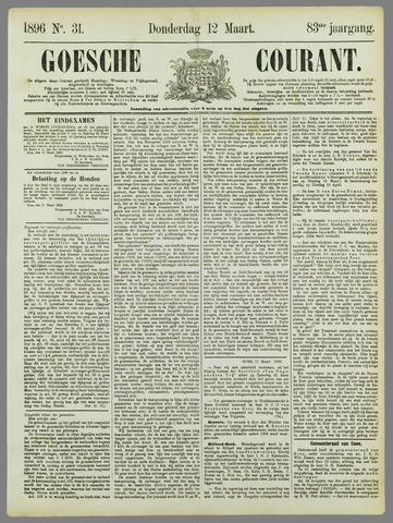 Goessche Courant 1896-03-12