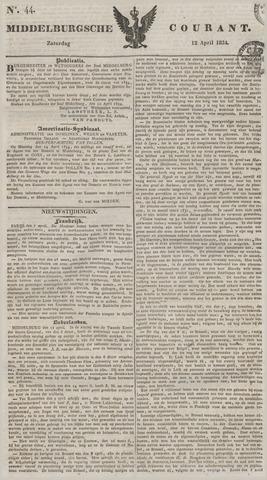Middelburgsche Courant 1834-04-12
