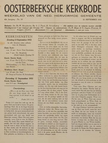 Watersnood documentatie 1953 - kranten 1953-09-12