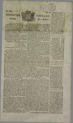 Goessche Courant 1824-08-09