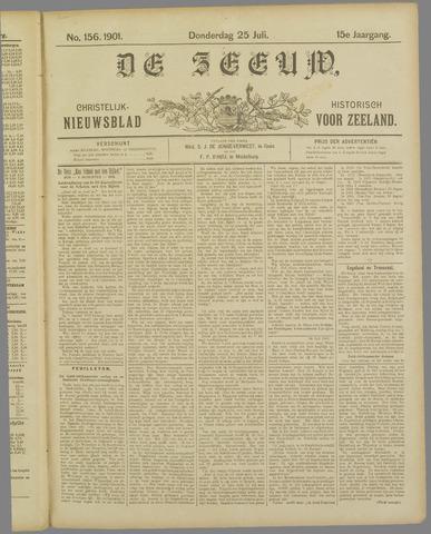 De Zeeuw. Christelijk-historisch nieuwsblad voor Zeeland 1901-07-25