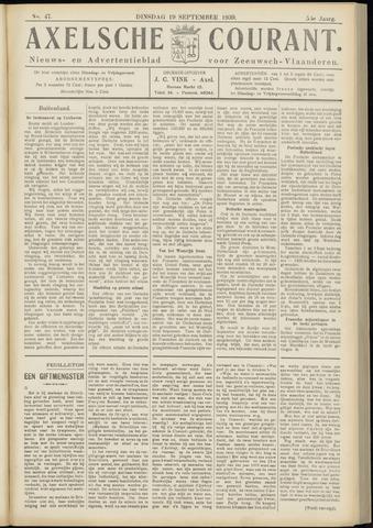 Axelsche Courant 1939-09-19
