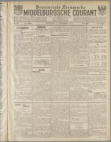 Middelburgsche Courant 1932-12-14