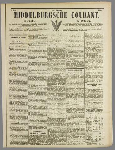 Middelburgsche Courant 1906-10-17