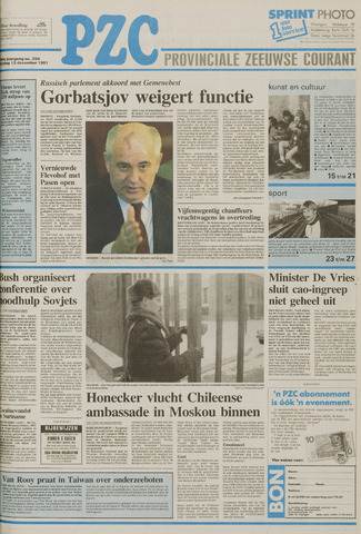Provinciale Zeeuwse Courant 1991-12-13