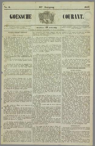 Goessche Courant 1857-01-19
