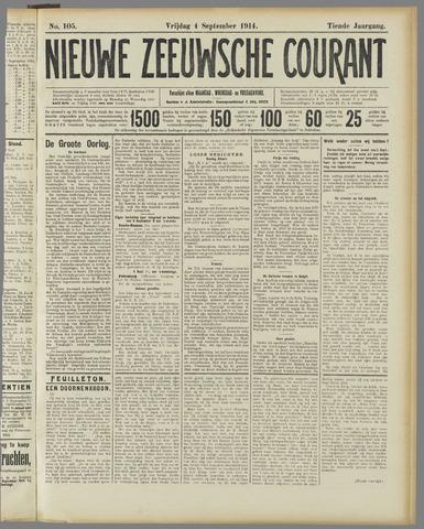 Nieuwe Zeeuwsche Courant 1914-09-04