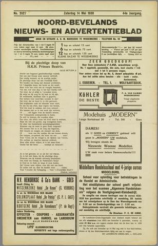 Noord-Bevelands Nieuws- en advertentieblad 1938-05-14