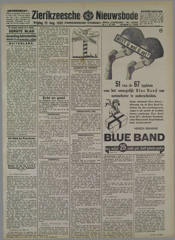 Zierikzeesche Nieuwsbode 1932-08-12
