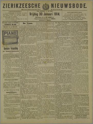 Zierikzeesche Nieuwsbode 1914-01-30