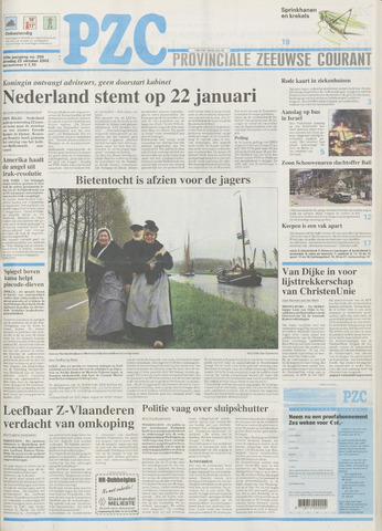 Provinciale Zeeuwse Courant 2002-10-22