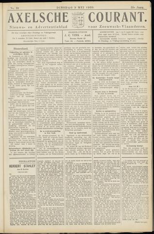 Axelsche Courant 1939-05-09