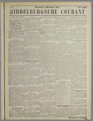 Middelburgsche Courant 1919-03-26