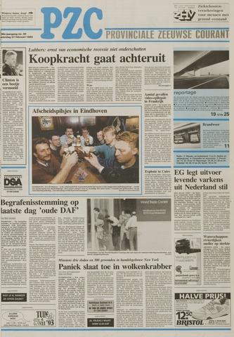 Provinciale Zeeuwse Courant 1993-02-27