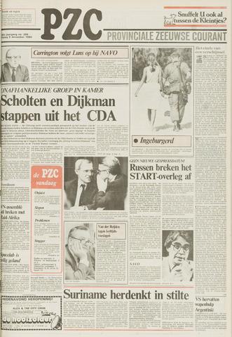 Provinciale Zeeuwse Courant 1983-12-09