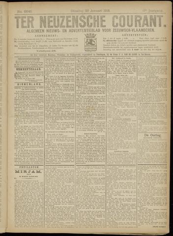 Ter Neuzensche Courant. Algemeen Nieuws- en Advertentieblad voor Zeeuwsch-Vlaanderen / Neuzensche Courant ... (idem) / (Algemeen) nieuws en advertentieblad voor Zeeuwsch-Vlaanderen 1918-01-29