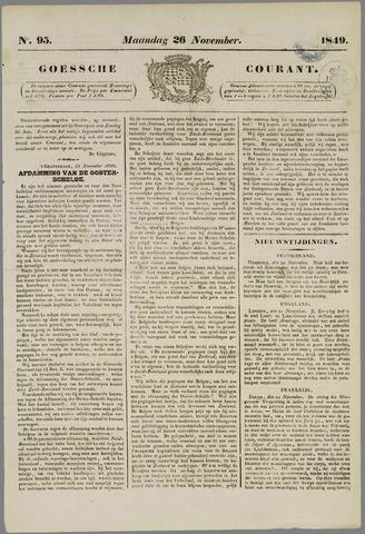Goessche Courant 1849-11-26